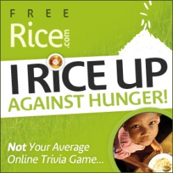 Free word game to end hunger